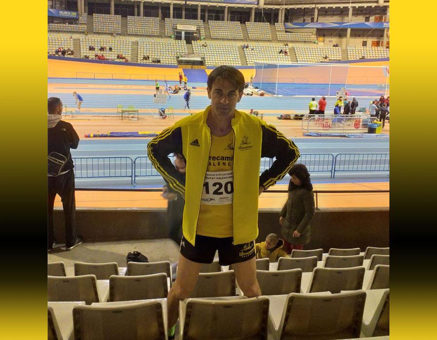 Julián Muñoz: 1º Máster 40 800 M