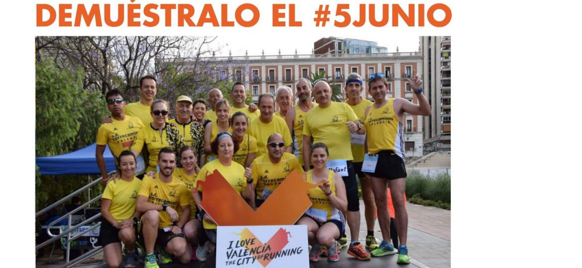 global running day para correca