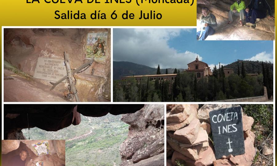 GRUPO SALVAJE LA CUEVA DE INES (Moncada) Salida día 6 de Julio