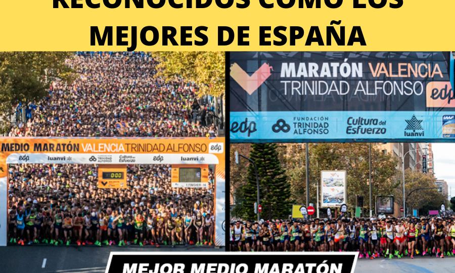 NUESTRO MEDIO MARATÓN Y MARATÓN RECONOCIDOS COMO LOS MEJORES DE ESPAÑA (1)